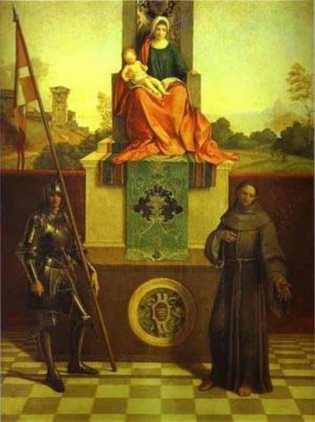 Castelfranco madonna 1506 castelfranco venero san liberalre italy